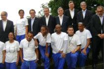 Artur Mas, presidente de la Generalitat de Cataluña, visita el Centro de Formación de la Fundación Gas Natural Fenosa en Río de Janeiro