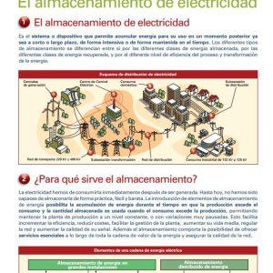 almacenamiento de electricidad