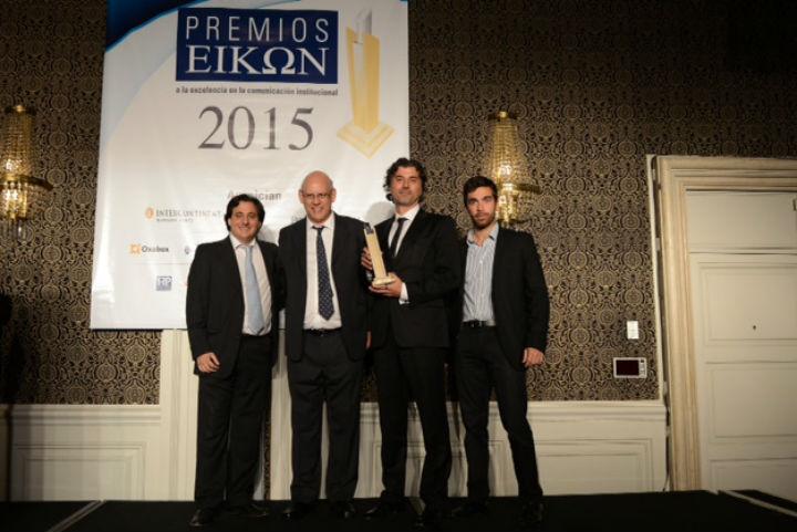 El Programa Primera Exportación de la Fundación Gas Natural Fenosa premiado en los Eikon 2015 de Argentina