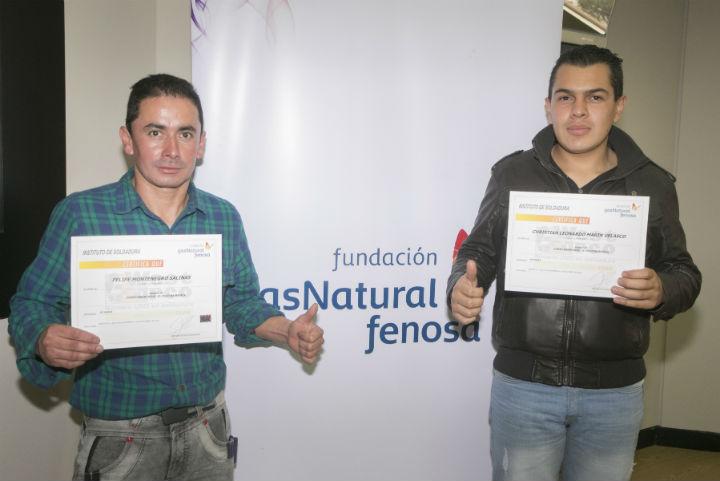 Certificados Programa de Formación de Técnicos Especialistas en Conversión de GNV