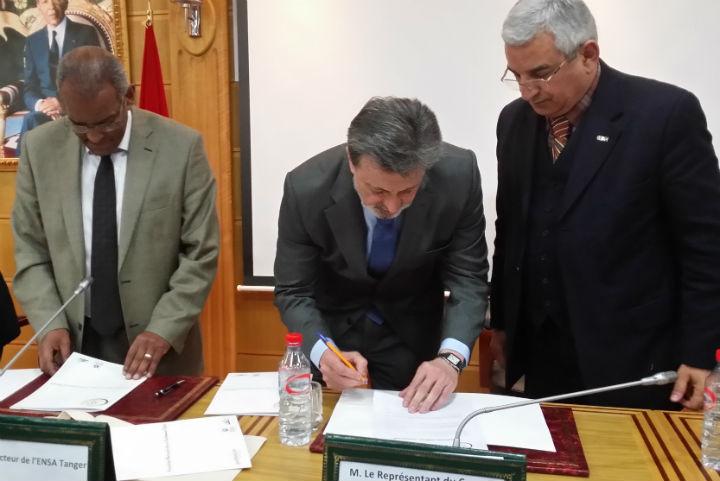 La Fundación Gas Natural Fenosa y la Escuela Nacional de Ciencias Aplicadas de Tánger firman un Convenio Marco de Cooperación