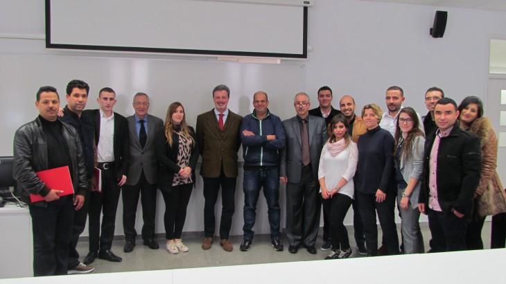 Apertura de las Jornadas de Barcelona del Programa de Formación para la Exportación
