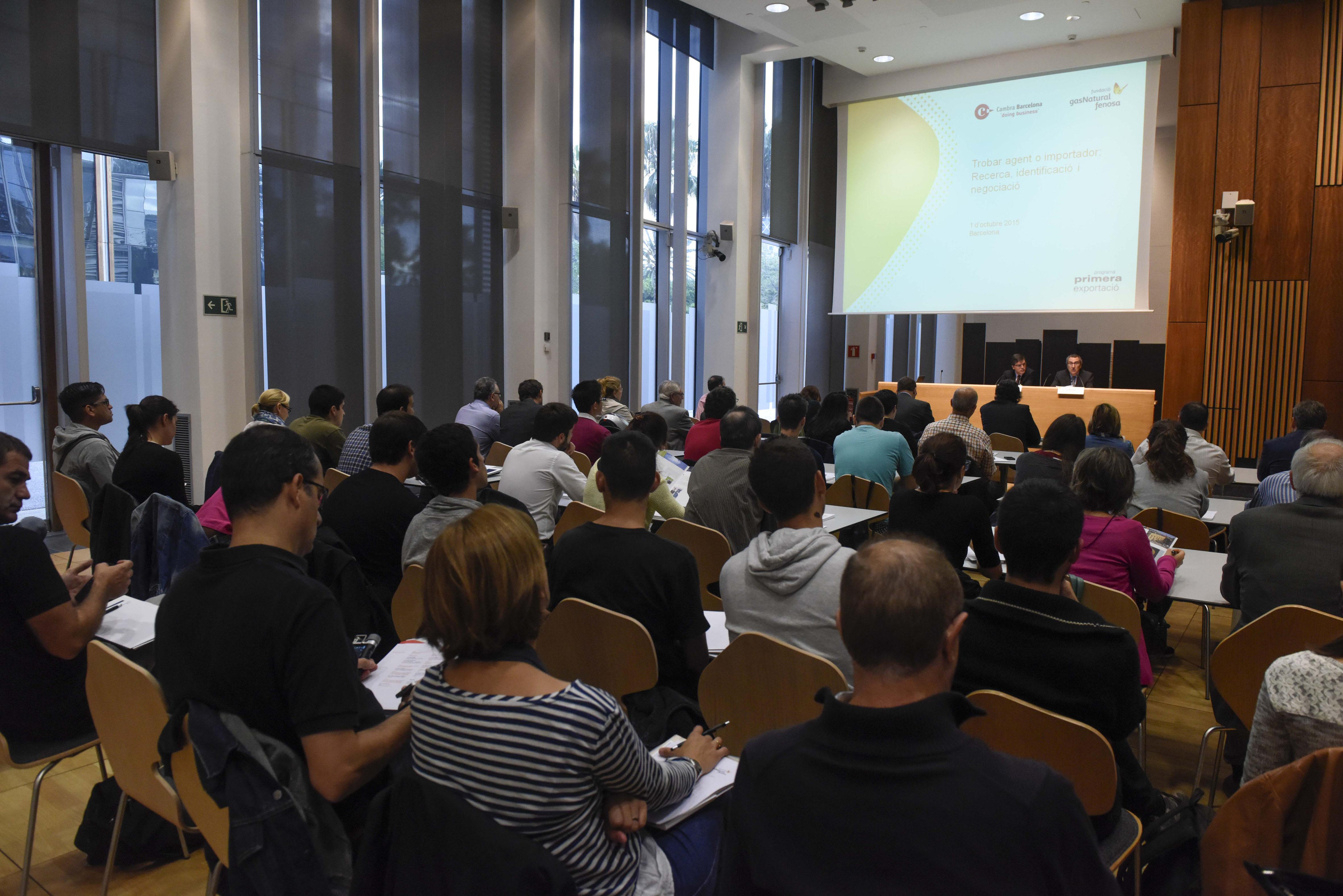 Seminario Programa Primera Exportación Barcelona