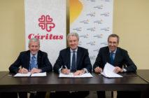 Acuerdo Cáritas-Fundación Gas Natural Fenosa