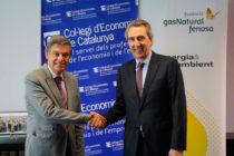 Convenio Fundación Gas Natural Fenosa Colegio Economistas