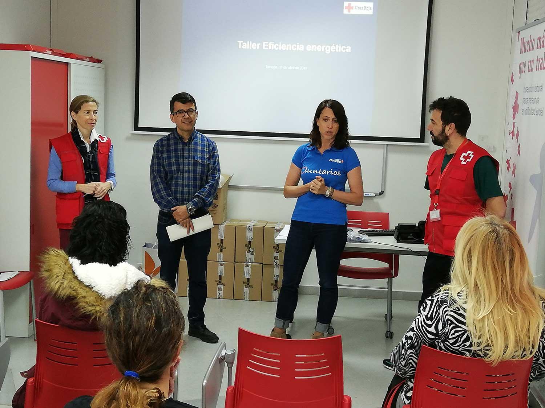 Voluntariado energético Fundación Naturgy Cruz Roja