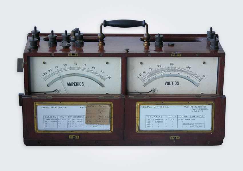 aparato de medida doble