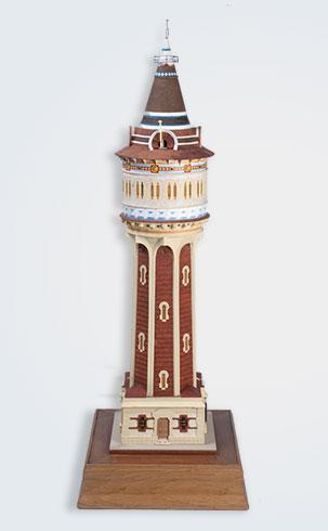 maqueta torre de las aguas