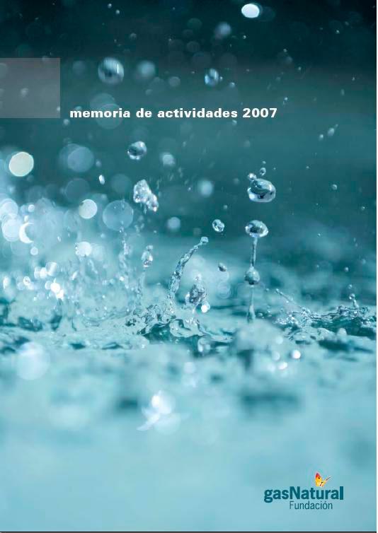 Memoria de actividades Fundación Naturgy 2007