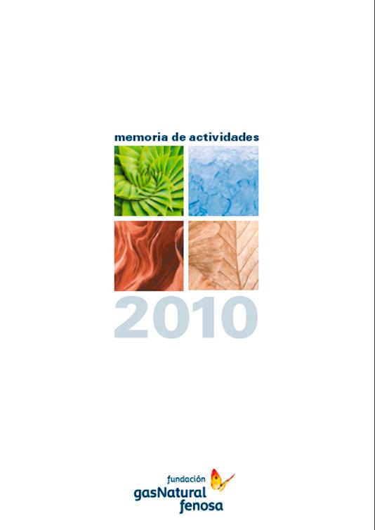Memoria de actividades Fundación Naturgy 2010