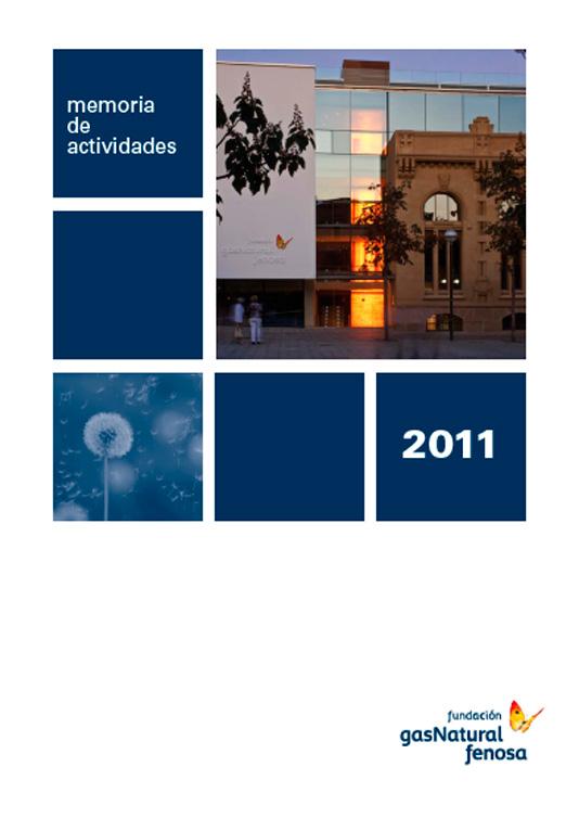Memoria de actividades Fundación Naturgy 2011
