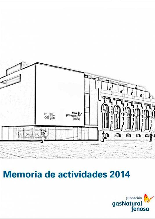 Memoria de actividades Fundación Naturgy 2014