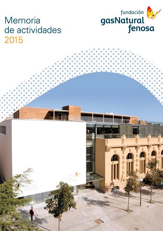Memoria de actividades Fundación Naturgy 2015