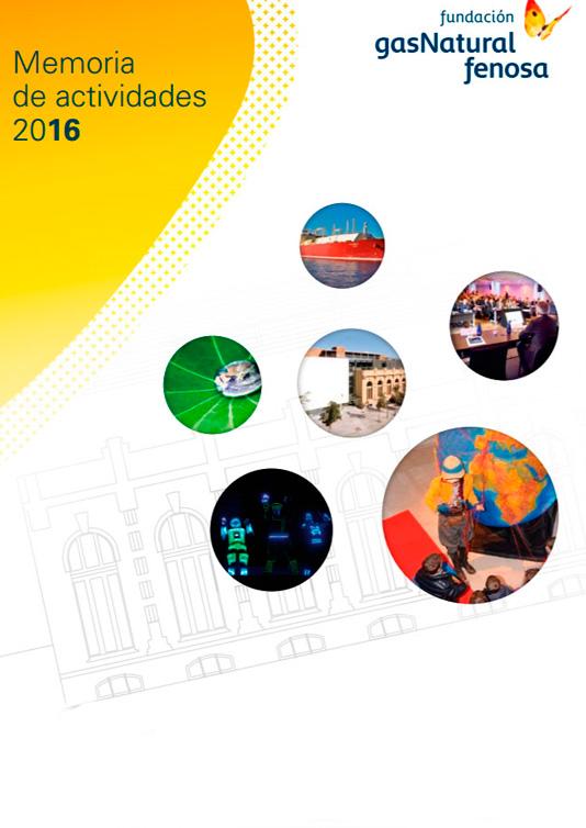 Memoria de actividades Fundación Naturgy 2016