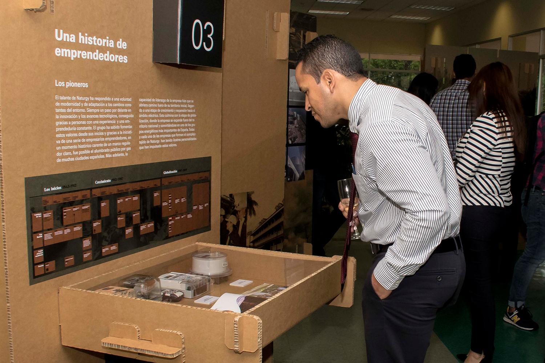 Exposición Haciendo Historia en Panamá y en el mundo Fundación Naturgy