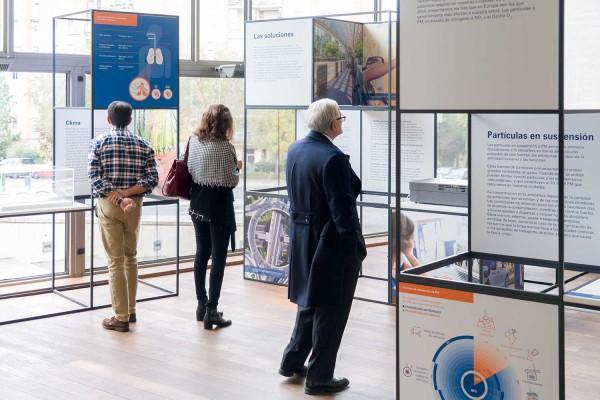 Exposición Fundación Naturgy La Calidad del Aire