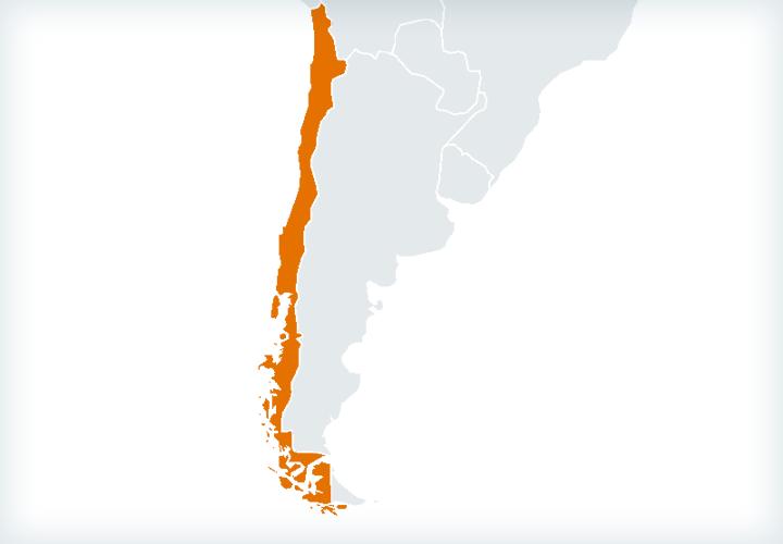 Actividad internacional en Chile