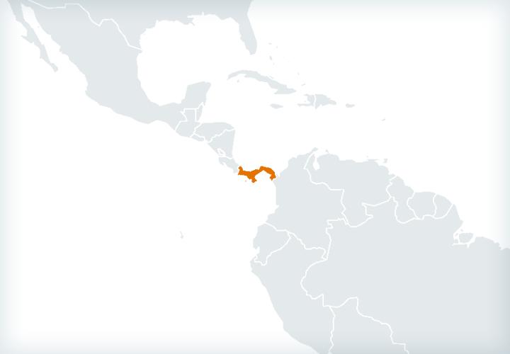 Actividad internacional en Panamá