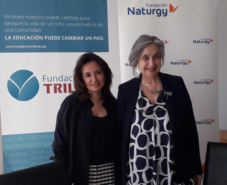 Fundación Naturgy y Fundación Trilema
