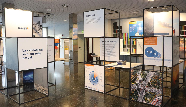 Exposición Calidad del Aire IDAEA