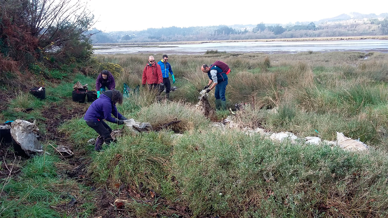 Voluntariiado Ambiental Fragas do Mandeo Galicia