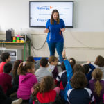 More than 750 children from A Coruña, Ferrol and Santiago de Compostela take part in the educational workshops organised by the Naturgy Foundation on current energy challenges