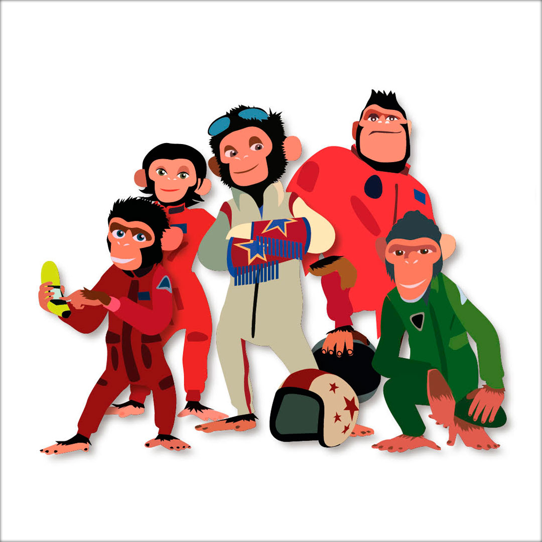 space-chimp